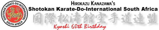 Kyoshi 60th Birthday