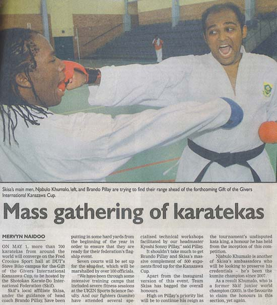 news coverage - Mass Gathering of Karatekas 1a